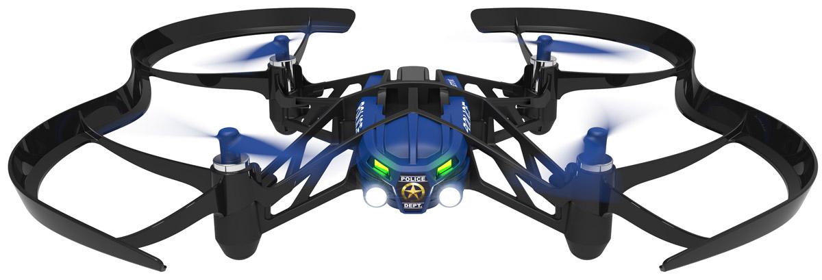Parrot Квадрокоптер на радиоуправлении Minidrone Airborne Swat