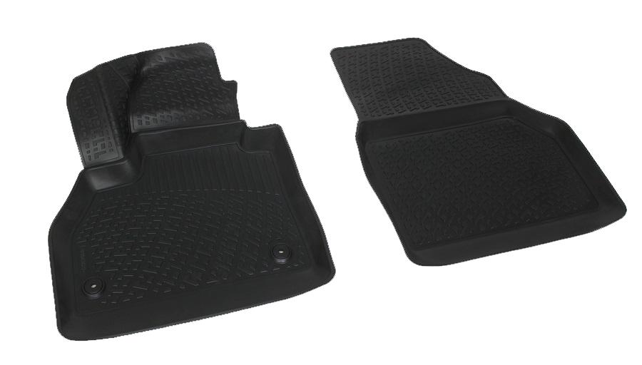 Коврики в салон автомобиля L.Locker, для Renault Kangoo (08-), передниеLGT.38.10.B13Коврики L.Locker производятся индивидуально для каждой модели автомобиля из современного и экологически чистого материала. Изделия точно повторяют геометрию пола автомобиля, имеют высокий борт, обладают повышенной износоустойчивостью, антискользящими свойствами, лишены резкого запаха и сохраняют свои потребительские свойства в широком диапазоне температур (от -50°С до +80°С). Рисунок ковриков специально спроектирован для уменьшения скольжения ног водителя и имеет достаточную глубину, препятствующую свободному перемещению жидкости и грязи на поверхности. Одновременно с этим рисунок не создает дискомфорта при вождении автомобиля. Водительский ковер с предустановленными креплениями фиксируется на штатные места в полу салона автомобиля. Новая технология системы креплений герметична, не дает влаге и грязи проникать внутрь через крепеж на обшивку пола.