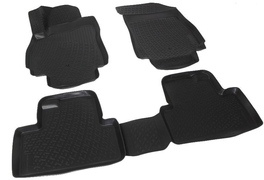 Коврики в салон автомобиля L.Locker, для Chevrolet Orlando (10-)FS-80264Коврики L.Locker производятся индивидуально для каждой модели автомобиля из современного и экологически чистого материала. Изделия точно повторяют геометрию пола автомобиля, имеют высокий борт, обладают повышенной износоустойчивостью, антискользящими свойствами, лишены резкого запаха и сохраняют свои потребительские свойства в широком диапазоне температур (от -50°С до +80°С). Рисунок ковриков специально спроектирован для уменьшения скольжения ног водителя и имеет достаточную глубину, препятствующую свободному перемещению жидкости и грязи на поверхности. Одновременно с этим рисунок не создает дискомфорта при вождении автомобиля. Водительский ковер с предустановленными креплениями фиксируется на штатные места в полу салона автомобиля. Новая технология системы креплений герметична, не дает влаге и грязи проникать внутрь через крепеж на обшивку пола.