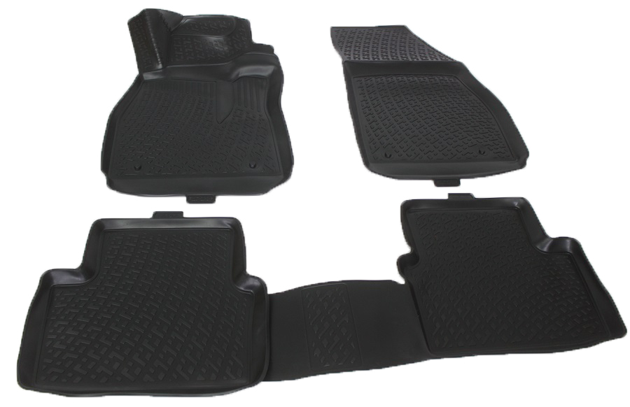 Коврики в салон автомобиля L.Locker, для Chevrolet Malibu sd (11-), 4 шт80621Коврики L.Locker производятся индивидуально для каждой модели автомобиля из современного и экологически чистого материала. Изделия точно повторяют геометрию пола автомобиля, имеют высокий борт, обладают повышенной износоустойчивостью, антискользящими свойствами, лишены резкого запаха и сохраняют свои потребительские свойства в широком диапазоне температур (от -50°С до +80°С). Рисунок ковриков специально спроектирован для уменьшения скольжения ног водителя и имеет достаточную глубину, препятствующую свободному перемещению жидкости и грязи на поверхности. Одновременно с этим рисунок не создает дискомфорта при вождении автомобиля. Водительский ковер с предустановленными креплениями фиксируется на штатные места в полу салона автомобиля. Новая технология системы креплений герметична, не дает влаге и грязи проникать внутрь через крепеж на обшивку пола.