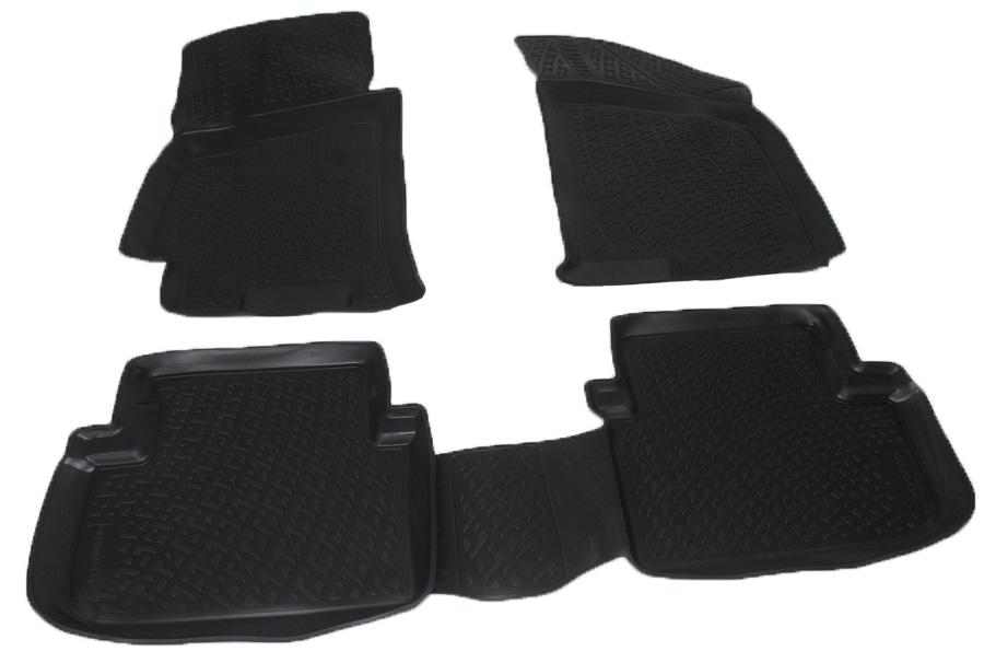 Коврики в салон автомобиля L.Locker, для ZAZ Chance (09-)21395599Коврики L.Locker производятся индивидуально для каждой модели автомобиля из современного и экологически чистого материала. Изделия точно повторяют геометрию пола автомобиля, имеют высокий борт, обладают повышенной износоустойчивостью, антискользящими свойствами, лишены резкого запаха и сохраняют свои потребительские свойства в широком диапазоне температур (от -50°С до +80°С). Рисунок ковриков специально спроектирован для уменьшения скольжения ног водителя и имеет достаточную глубину, препятствующую свободному перемещению жидкости и грязи на поверхности. Одновременно с этим рисунок не создает дискомфорта при вождении автомобиля. Водительский ковер с предустановленными креплениями фиксируется на штатные места в полу салона автомобиля. Новая технология системы креплений герметична, не дает влаге и грязи проникать внутрь через крепеж на обшивку пола.