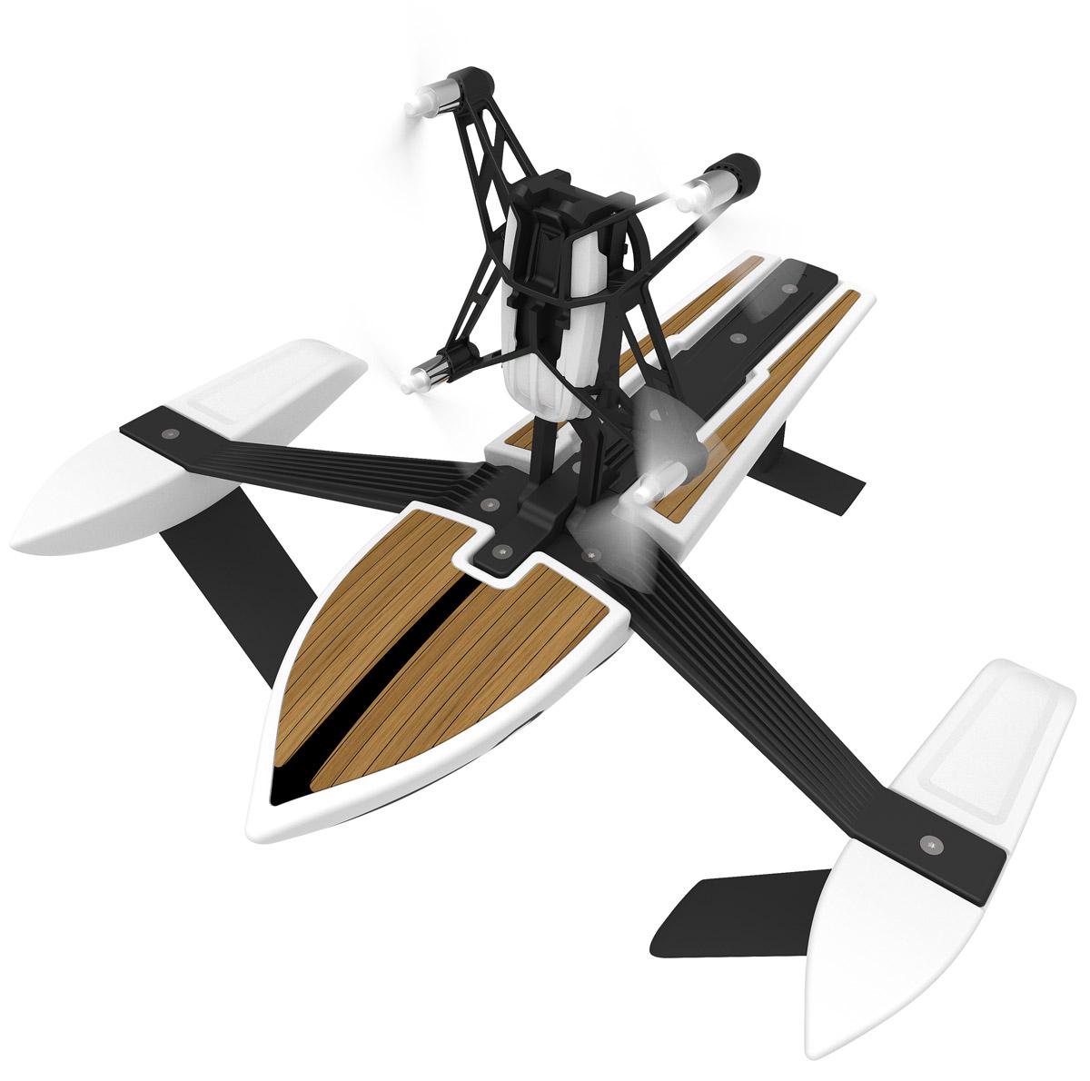 Parrot Квадрокоптер на радиоуправлении Minidrone Hydrofoil NewZ и корабль