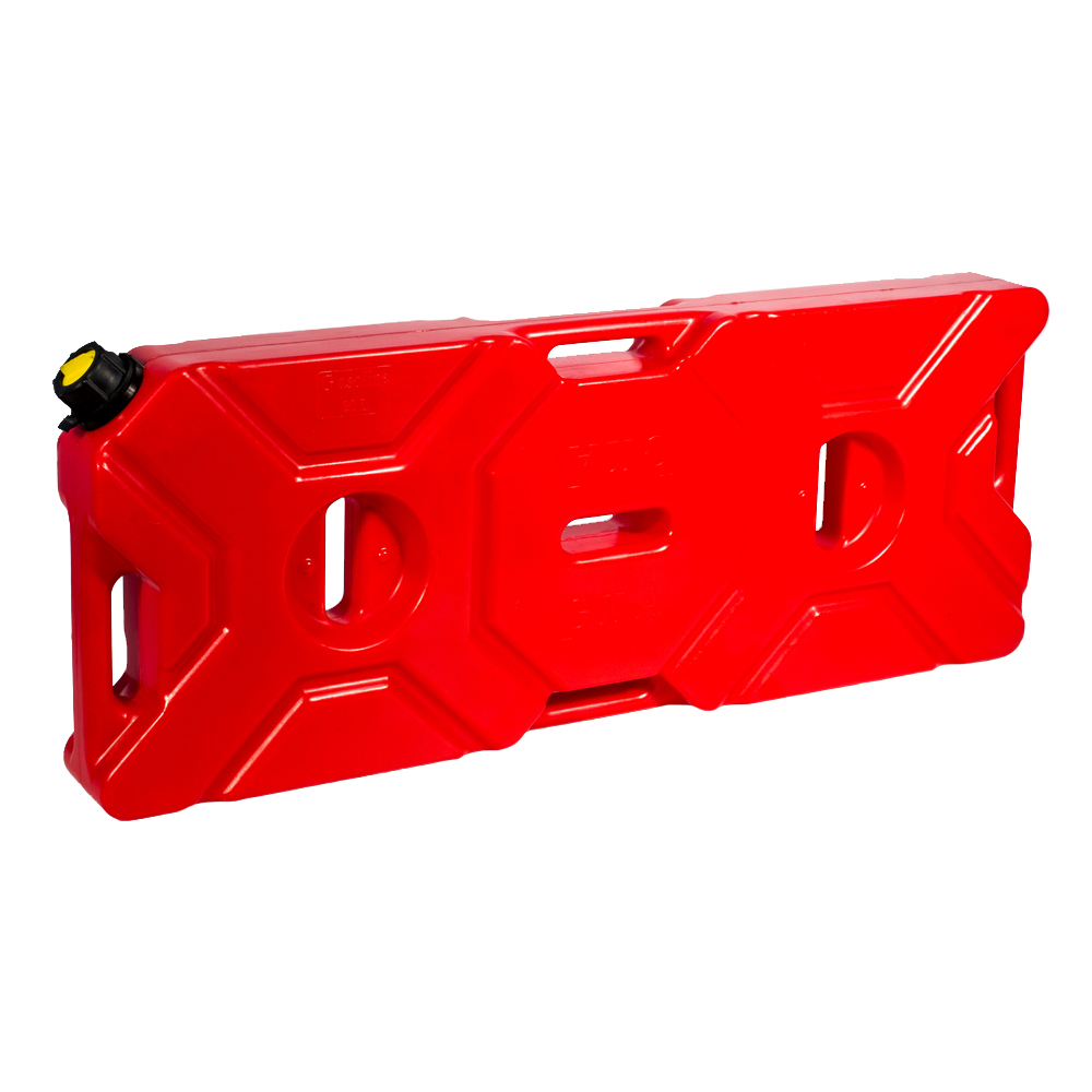 Канистра экспедиционная GKA, цвет: красный, 20 л19199Канистра экспедиционная плоская 20 литров GKA. Изготавливаются из высокопрочных полимеров. Предназначена для любого вида топлива и воды.Укомплектованы гибким носиком для розлива жидкостей. Уплотнитель и антивибрационная система крышки не позволяет жидкости расплескиваться.
