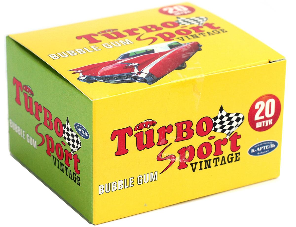Вкусная помощь Turbo-Sport жевательная резинка, 20 шт4640000276799Современная жвачка Turbo-Sport все такая же классная и ароматная, как и в 90-х годах. За прошедшие года жевательная резинка Турбо не утратила своей популярности, и сейчас она остается столь же привлекательной и желанной вкусняшкой для людей всех поколений. Даже если вы еще не успели родиться в 90-е, это еще не значит, что Turbo не для вас!В упаковке 20 жвательных резинок по 4 г. А еще каждая подушечка жвачки Turbo-Sport с бонусом – с наклейкой, на которой машинка, настоящая и красивая! У кого была коллекция?Уважаемые клиенты! Обращаем ваше внимание, что полный перечень состава продукта представлен на дополнительном изображении.