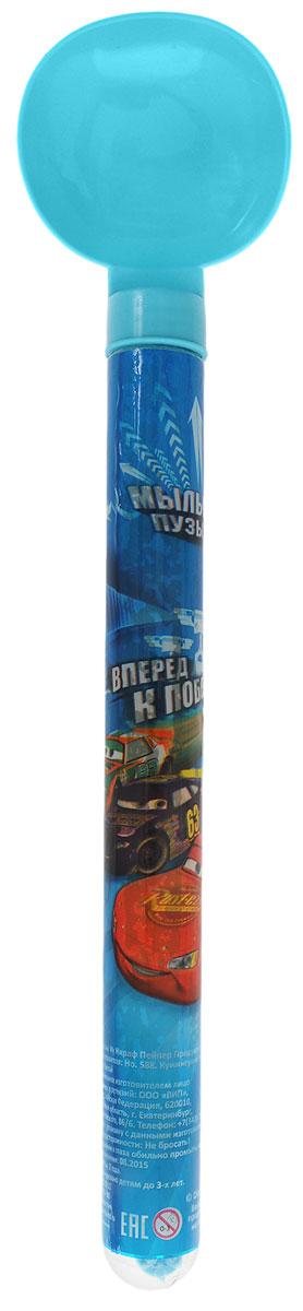 Disney Мыльные пузыри Вперед к победе Тачки цвет голубой 65 мл disney мыльные пузыри ручка с печатью и светом тачки 10 мл
