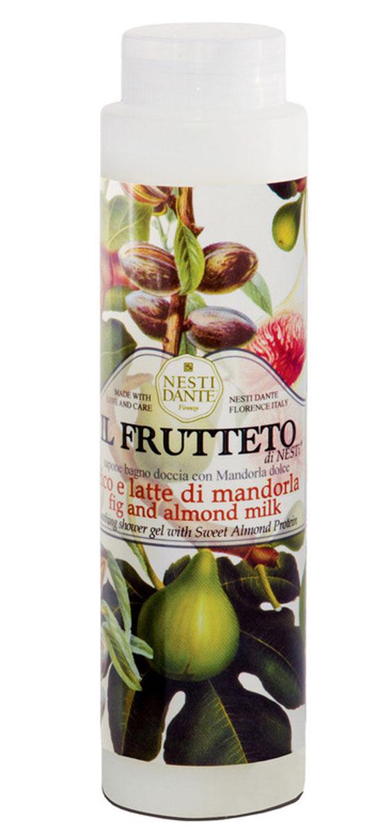 Nesti Dante гель для душа Fig & Almond Milk Инжир и миндальное молоко 300 млD0105_синийВеликолепный гель для душа, созданный, из выращенных на солнце драгоценных плодов флорентийского сада. Увлажняет и успокаивает кожу. С ароматом миндаля и инжира