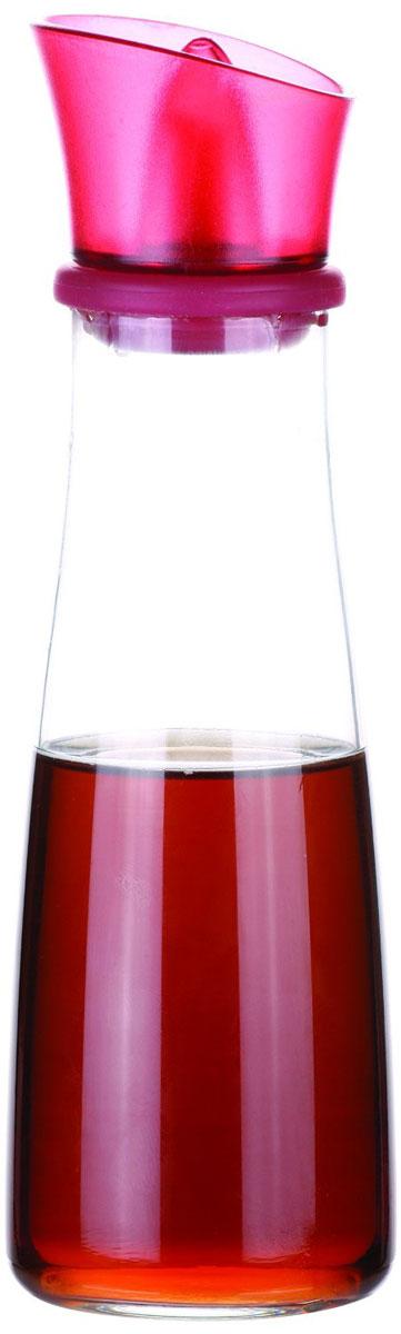 Емкость для масла и уксуса Tescoma Vitamino, цвет: фуксия, прозрачный, 250 мл4630003364517Емкость для масла Tescoma Vitamino, выполненная из высококачественного боросиликатного стекла, позволит украсить любую кухню. Она внесет разнообразие как в строгий классический стиль, так и в современный кухонный интерьер. Легка в использовании, стоит только перевернуть, и вы с легкостью сможете добавить масло. Изделие оснащено воронкой из силикона и крышкой из прочной пластмассы. Оригинальная емкость будет отлично смотреться на вашей кухне.Изделие пригодно для мытья в посудомоечной машине.Высота емкости (с учетом крышки): 20 см.