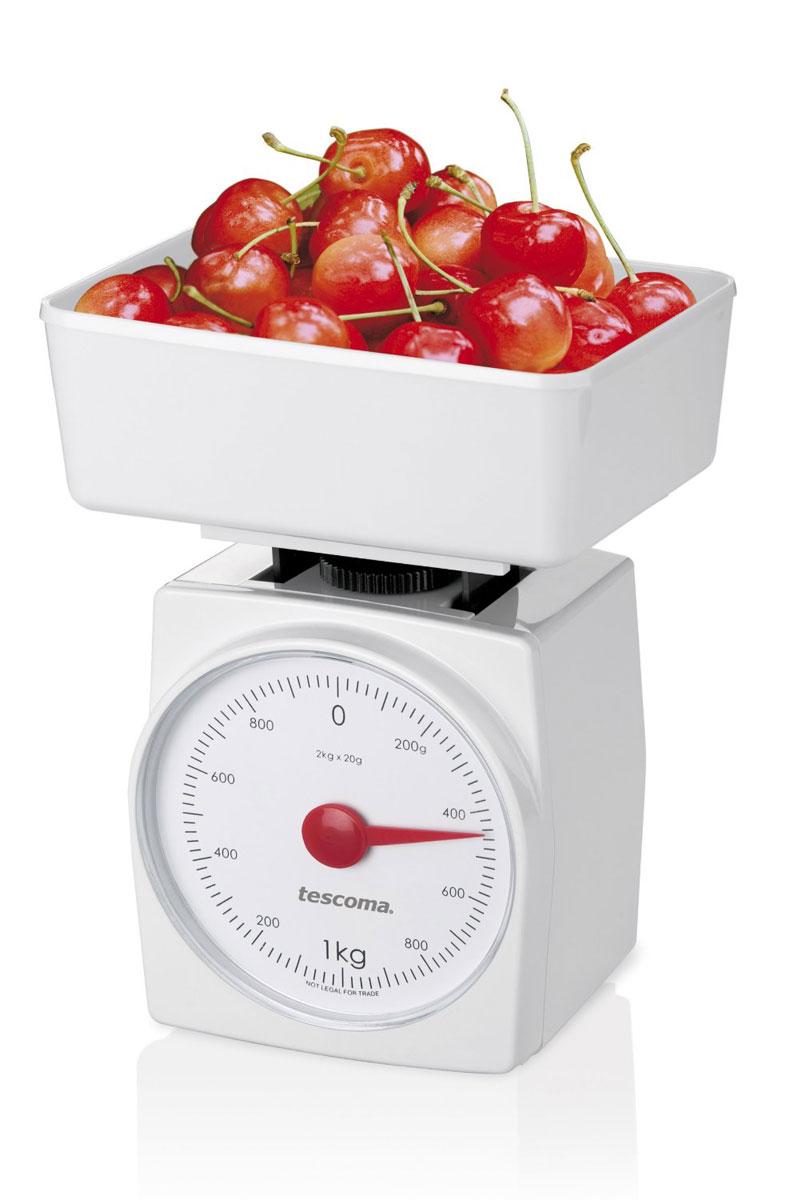 Весы кухонные Tescoma Accura, до 2 кгМS-067Механические кухонные весы Tescoma Accura станут незаменимым аксессуаром на кухне. Корпус весов выполнен из прочного пластика. Весы выдерживают до 2 килограмм и оборудованы удобной чашей прямоугольной формы из пластика, в которой можно смешивать и взвешивать ингредиенты.С помощью таких механических весов можно точно контролировать пропорции ингредиентов. Кухонные весы Tescoma Accura придутся по душе каждой хозяйке. Высота весов: 20 см.