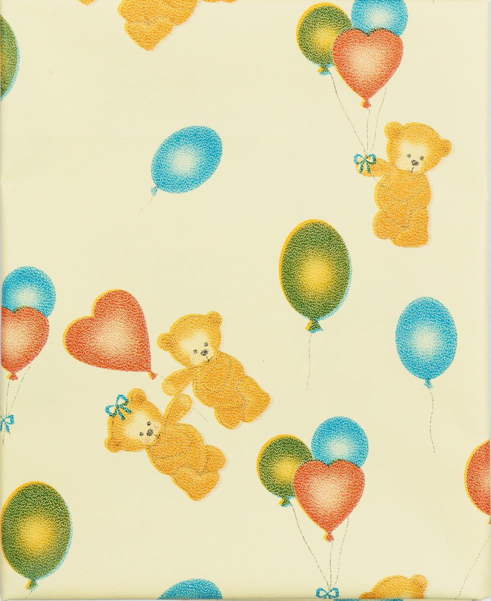 Колорит Клеенка подкладная с резинками-держателями цвет желтый, голубой, зеленый 50 х 70 см