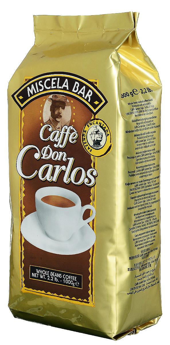 Carraro Don Carlos кофе в зернах, 1 кг101246Carraro Don Carlos - это настоящий традиционный крепкий итальянский кофе, насыщенная консистенция и аромат которого является результатом создания смеси из лучших зерен Арабики и Робусты из разных стран.