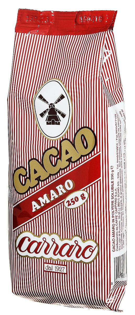 Carraro Bitter какао, 250 г0120710Горький растворимый Carraro Bitter - это отличная чашка шоколада как такового, либо для кулинарных рецептов. Это какао производится из лучшего какао-порошка с содержанием какао-масла 20-22%.