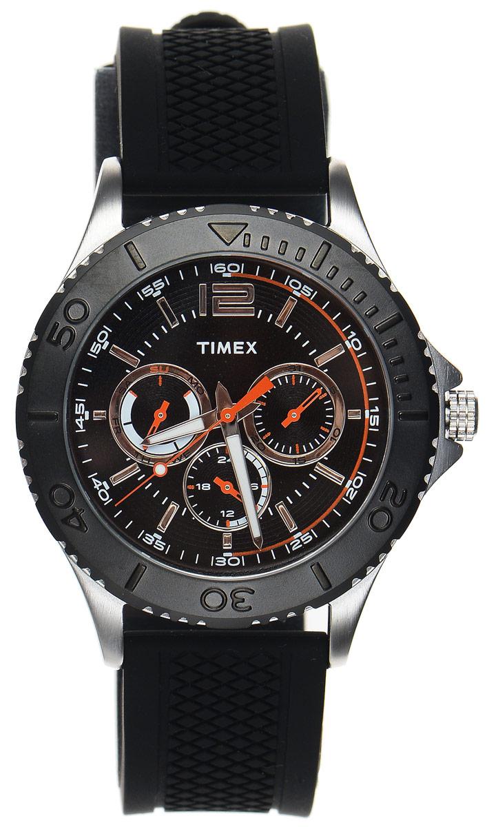 Zakazat.ru: Часы наручные мужские Timex Style Elevated, цвет: черный, серебряный. TW2P87500