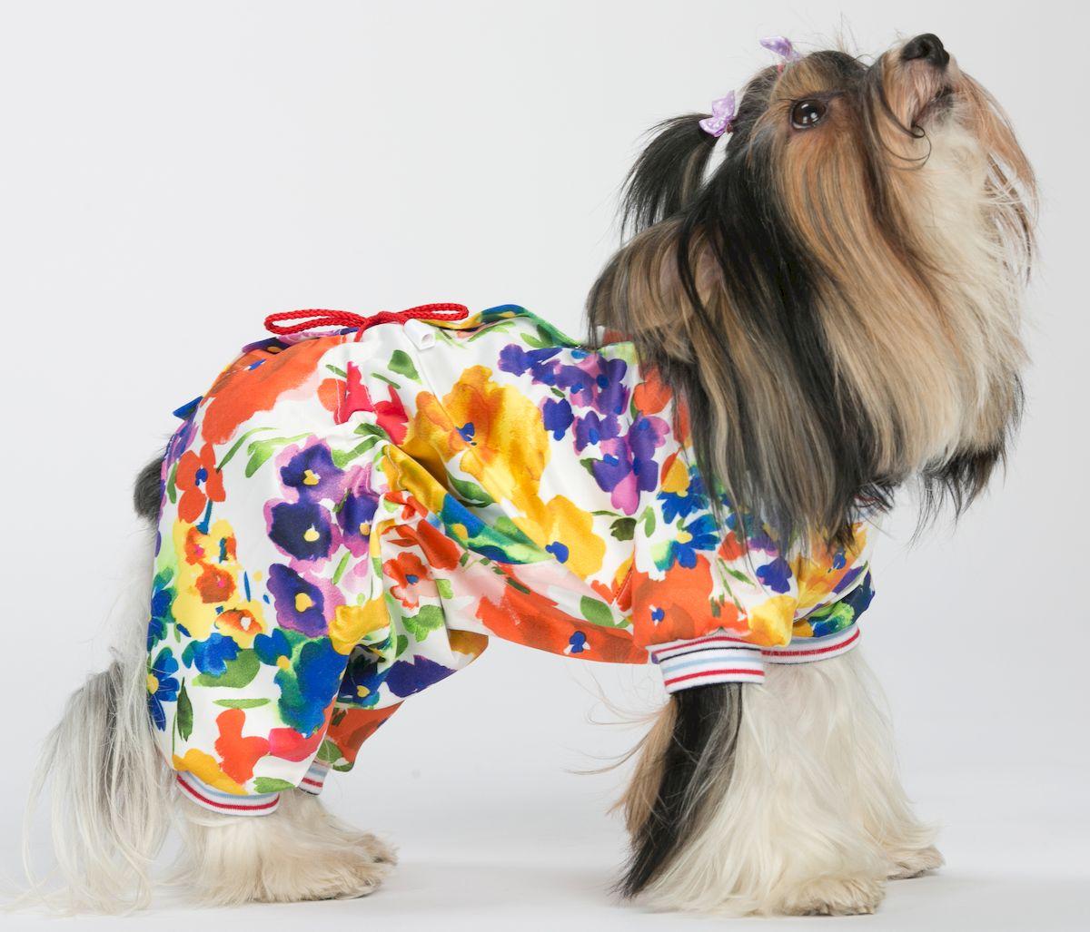 Комбинезон для собак Yoriki  Леди , для девочки. Размер S - Одежда, обувь, украшения