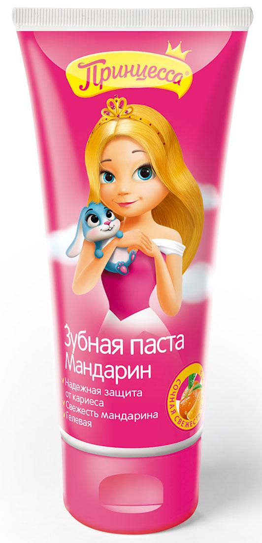 Принцесса Зубная паста Мандарин 65 гMP59.4DДетская гелевая зубная паста Мандарин специально разработана для детей от 3-х лет. Мягко очищает и освежает полость рта, эффективно защищает от кариеса как молочные, так и постоянные зубы.