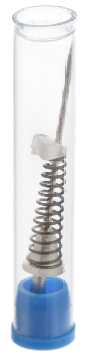 Игла для швейных машин Schmetz, с пружиной, №8022:15.2.VDSИгла Schmetz выполнена из метала и оснащена пружиной с пластиковой пробкой. Она используется для вышивки в свободно-ходовой технике (со снятой лапкой и с отключенным нижним и верхним транспортером). Пружина удерживает ткань от скольжения вверх-вниз по игле.Подходит для бытовых швейных машин всех марок.В комплект входит пластиковая капсула для хранения.Размер иглы: №80.Размер капсулы: 0,8 х 0,8 х 4,2 см.