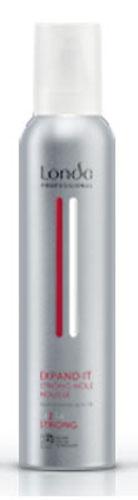 LC СТАЙЛИНГ Пена NEW д/укладки волос сильн. фик.250мл EXPAND ITMP59.4DПрофессиональная пена Londa Expand для укладки волос с микрополимерами 3D-Sculpt предназначен для придания волосам объема на срок до 24 часов. Обладает теплозащитными свойствами. Характеристики:Объем: 250 мл. Производитель: Германия. Товар сертифицирован.