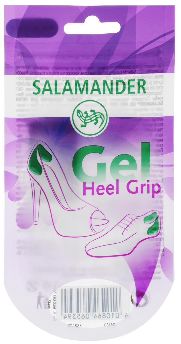 Полоски для пяток Salamander Gel Heel Grip, универсальные, 1 параNTS-101C blueНевидимые гелевые мини-подушечки для пятки Salamander Gel Heel Grip обеспечивают мягкость и комфорт при носке обуви. Они сделают обувь более комфортной, защищая наиболее чувствительные участки ступни от повреждений, скольжения и излишнего давления.Подушечки липкие, поэтому очень легко крепятся: просто прижмите липкой поверхностью к внутренней стороне обуви. Состав: полиуретановый гель.