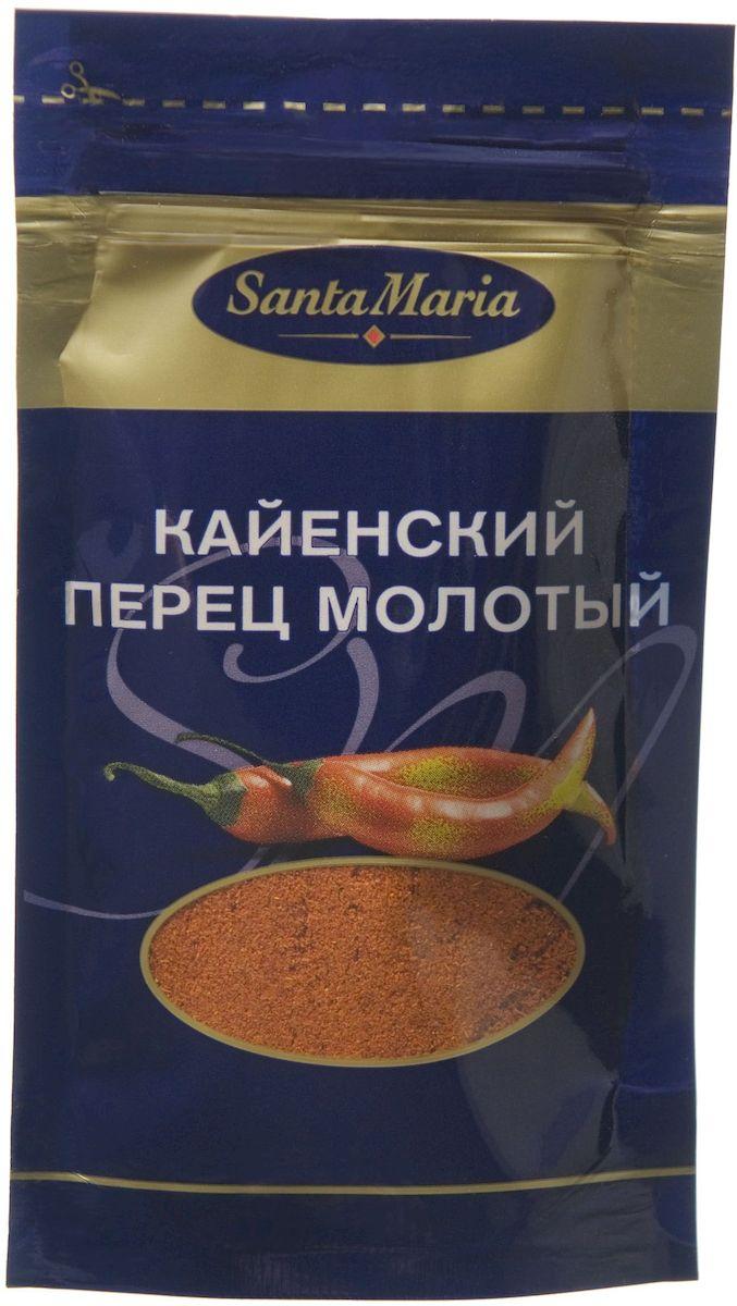 Santa Maria Кайенский перец молотый, 18 г0120710Кайенский перец отличается жгучим вкусом и сильным, пряно - горьким ароматом. Добавляется в любые блюда, где нужен насыщенный вкус и аромат.