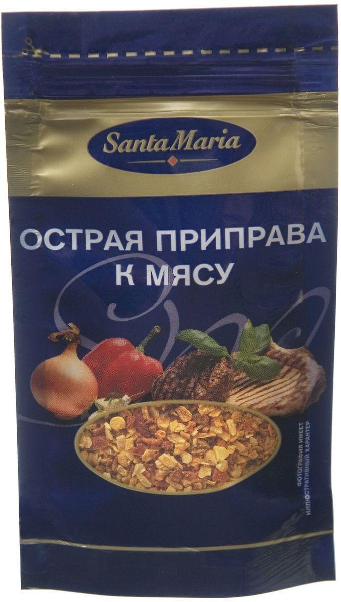 Santa Maria Острая приправа к мясу, 20 г0120710Приправа Santa Maria обладает острым вкусом и пряным ароматом.Прекрасно сочетается с жареным и тушеным мясом, овощами.