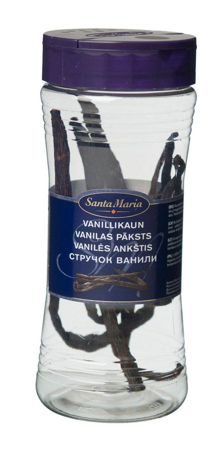 Santa Maria Ваниль стручковая, 6 шт17156Используется для выпечки, приготовления киселей, желе и других десертов и соусов для них, а также кофе и других напитков.