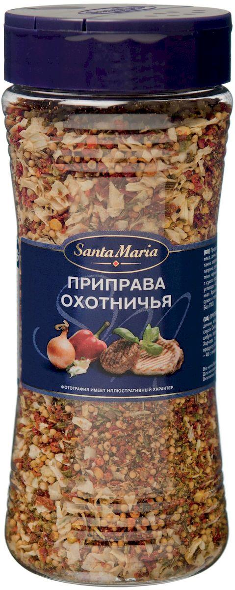 Santa Maria Приправа охотничья, 190 г13562Ароматная смесь для приготовления блюд из дичи, мяса, курицы, рыбы и овощей. Придает блюду нежный аромат тмина и паприки, а также аппетитный внешний вид.