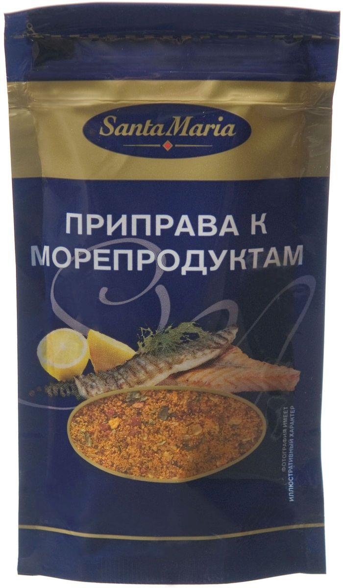 Santa Maria Приправа к морепродуктам, 25 г0120710Приправа Santa Maria придает блюдам из рыбы, морепродуктам и соусам аромат фенхеля и базилика. Добавляется в процессе приготовления: разогреть приправу на сковороде в растительном масле, добавить морепродукты и довести до готовности.