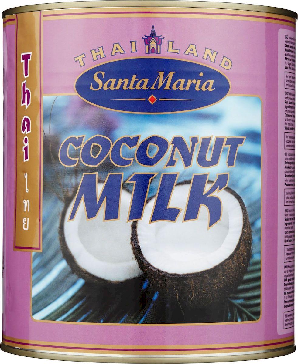 Santa Maria Кокосовое молоко, 2,9 л4693Приготовлено из мякоти созревшего кокоса и имеет густую консистенцию.