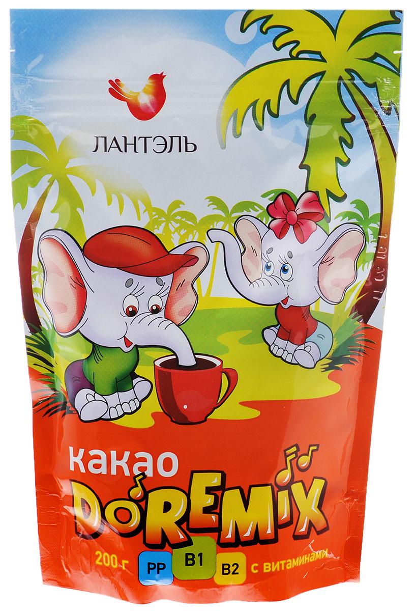 Лантэль DoReMix какао-порошок, 200 г4607160950402Какао Лантэль DoReMix – готовый к употреблению какао–напиток. Какао не только вкусный, но и очень полезный напиток, который содержит большое количество веществ полезных для человеческого организма.