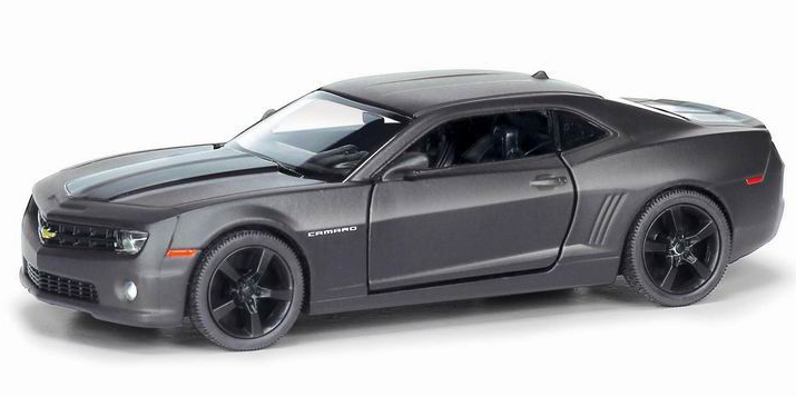 Машина металлическая 1:32 Chevrolet Camaro, инерционная, серый матовый цвет, 16.5 x 7.5 x 7 см— одна из наиболее актуальных моделей, которая за счет безупречного качества сборки и интересного дизайна пользуется хорошим спросом.