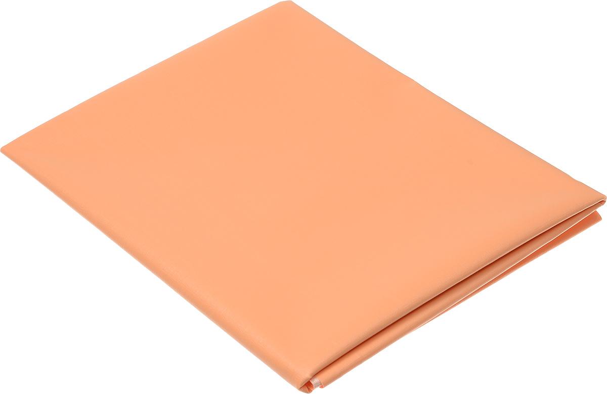 Колорит Клеенка подкладная без окантовки цвет оранжевый 50 х 70 см