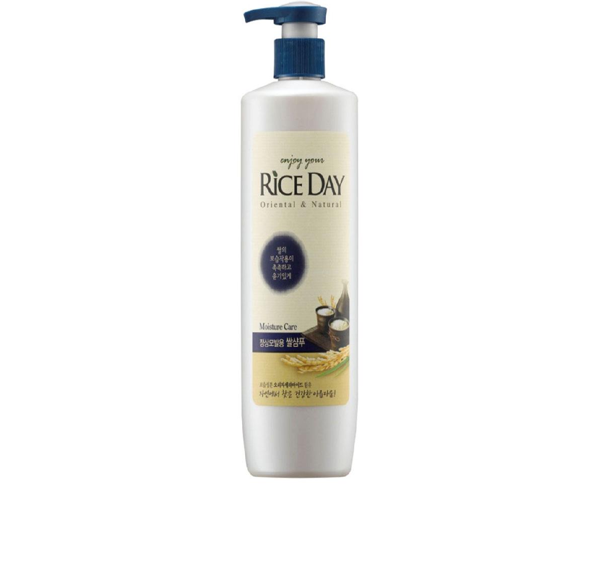 CJ Lion Шампунь для нормальных волос Riceday 550 гMP59.4DУвлажняющий шампунь для волос нормального типа с экстрактами рисовых отрубей, портулака огородного и керамидами. • Проникая в волос, керамиды заполняют пространство в наружном слое кутикул, предохраняя волосы от ломкости и придавая им блеск и ухоженный вид • Масло рисовых отрубей глубоко увлажняет и питает волосы, защищает от воздействия УФ-лучей, предотвращает преждевременное выпадение волос и способствует их росту • Экстракт портулака огородного защищает волосы от агрессивного внешнего воздействия окружающей среды, помогает волосам сохранять естественный блеск.
