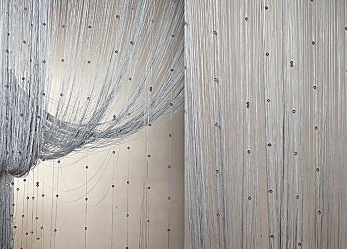 Штора нитяная Magnolia Кисея, цвет: серый, высота 300 см. XLF SJ 0788882Декоративная нитяная штора для дизайнерских решений в вашем доме. Подходит как для зонирования пространства, а так же декорации окна, как самостоятельное решение или дополнение к шторам.