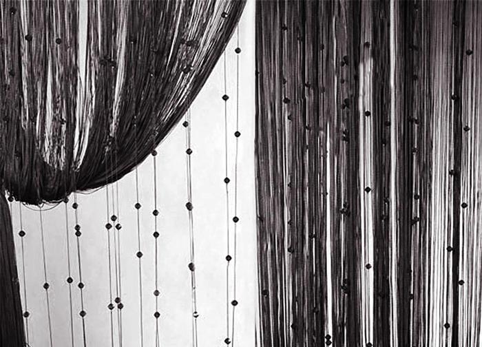 Штора нитяная Magnolia Кисея, цвет: черный, высота 300 см. XLF SJ 09StormДекоративная нитяная штора для дизайнерских решений в вашем доме. Подходит как для зонирования пространства, а так же декорации окна, как самостоятельное решение или дополнение к шторам.