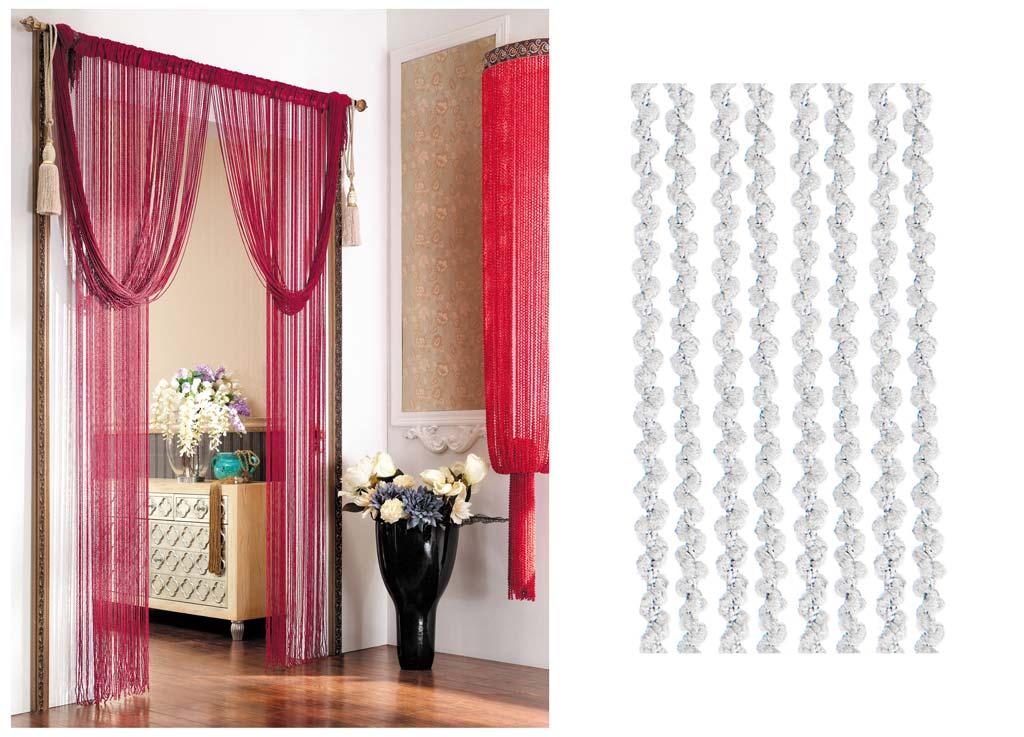 Штора нитяная Magnolia Кисея, цвет: белый, высота 290 см. CQ X055-1956251325Декоративная нитяная штора для дизайнерских решений в вашем доме. Подходит как для зонирования пространства, а так же декорации окна, как самостоятельное решение или дополнение к шторам.