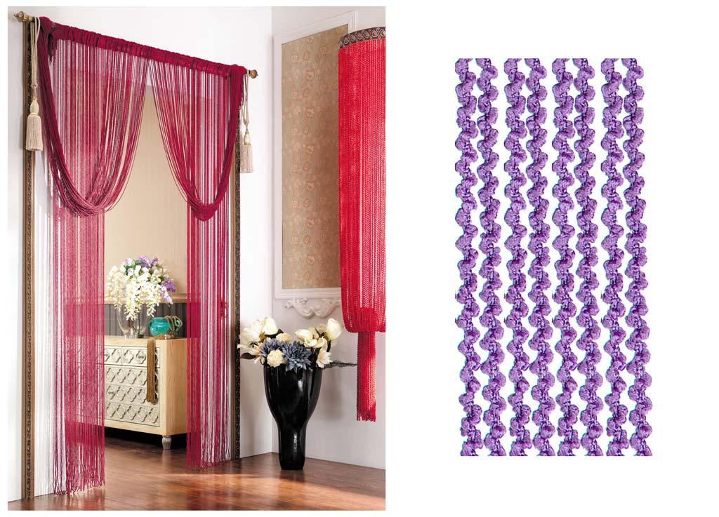 Штора нитяная Magnolia Кисея, цвет: фиолетовый, высота 290 см. CQ X055-12PANTERA SPX-2RSДекоративная нитяная штора для дизайнерских решений в вашем доме. Подходит как для зонирования пространства, а так же декорации окна, как самостоятельное решение или дополнение к шторам.