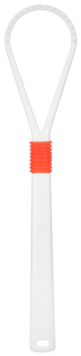 Очиститель-массажер языка Дельтатерм Лингва Lite, цвет: белый, оранжевыйHX9372/04Массажер-очиститель языка Свежесть освежает дыхание, затрудняет доступ инфекции в организм, улучшает чувствительность вкусовых рецепторов, а также предупреждает кариес, пародонтоз, гингивит. Его применение особенно показано при заболеваниях желудочно-кишечного тракта. Массажер изготовлен из экологически чистого материала.Очищение языка является наиболее эффективной процедурой соблюдения гигиены полости рта, применяемой многими народами мира на протяжении трёхсот лет. Массируя соответствующую зону языка, мы воздействуем на энергетическую структуру органов и лечим, не используя медикаменты, и таким образом, улучшаем здоровье и увеличиваем продолжительность жизни.