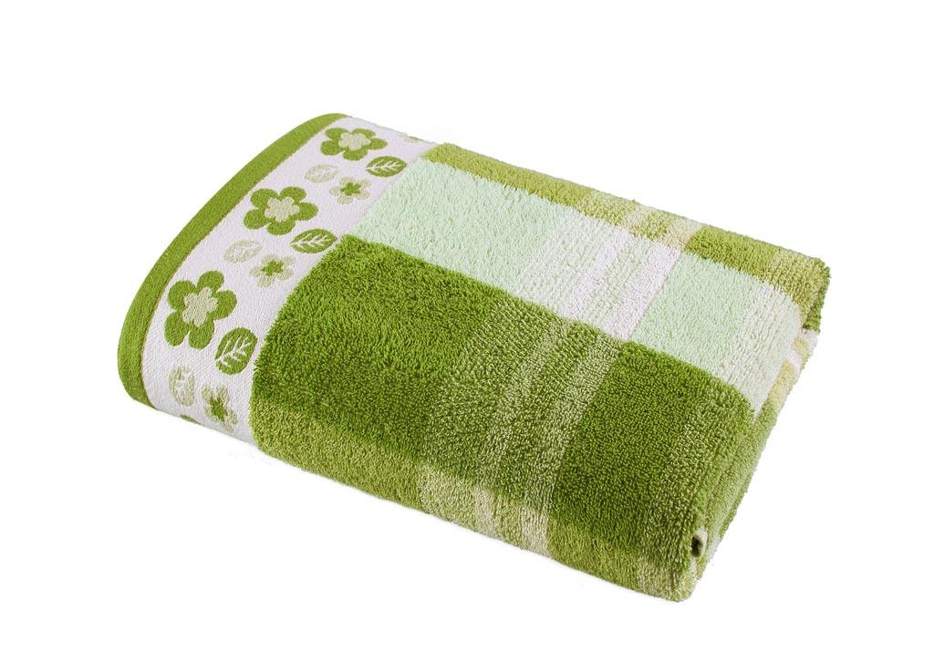 Полотенце Soavita Premium. Renata, цвет: зеленый, белый, 48 х 90 см68/5/4Полотенце Soavita Premium. Renata выполнено из 100% хлопка. Изделие отлично впитывает влагу, быстро сохнет, сохраняет яркость цвета и не теряет форму даже после многократных стирок. Полотенце очень практично и неприхотливо в уходе. Оно создаст прекрасное настроение и украсит интерьер в ванной комнате.