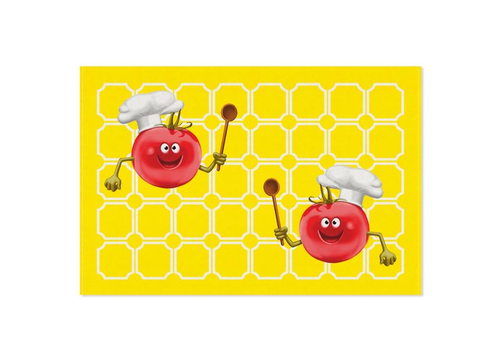 Полотенце кухонное Soavita Томат, 40 х 60 смVT-1520(SR)Кухонное полотенце Soavita Томат, выполненное из 100% хлопка, оформлено ярким изображением забавных томатов. Изделие предназначено для использования на кухне и в столовой.Такое полотенце станет отличным вариантом для практичной и современной хозяйки.Рекомендуется стирка при температуре 40°C.