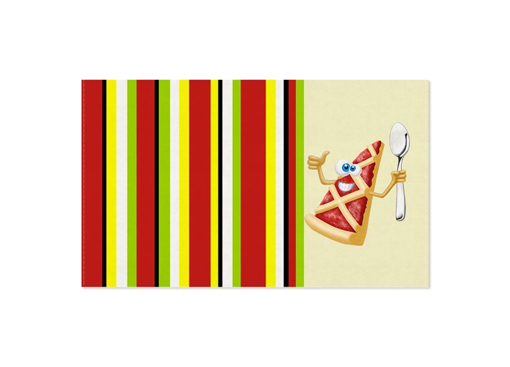 Полотенце кухонное Soavita Пицца, цвет: кремовый, красный, 30 х 50 см00023Кухонное полотенце Soavita Пицца выполнено из хлопка. Полотенца используются для протирки различных поверхностей, также широко применяются в быту.Перед использованием постирать при температуре не выше 40 градусов.