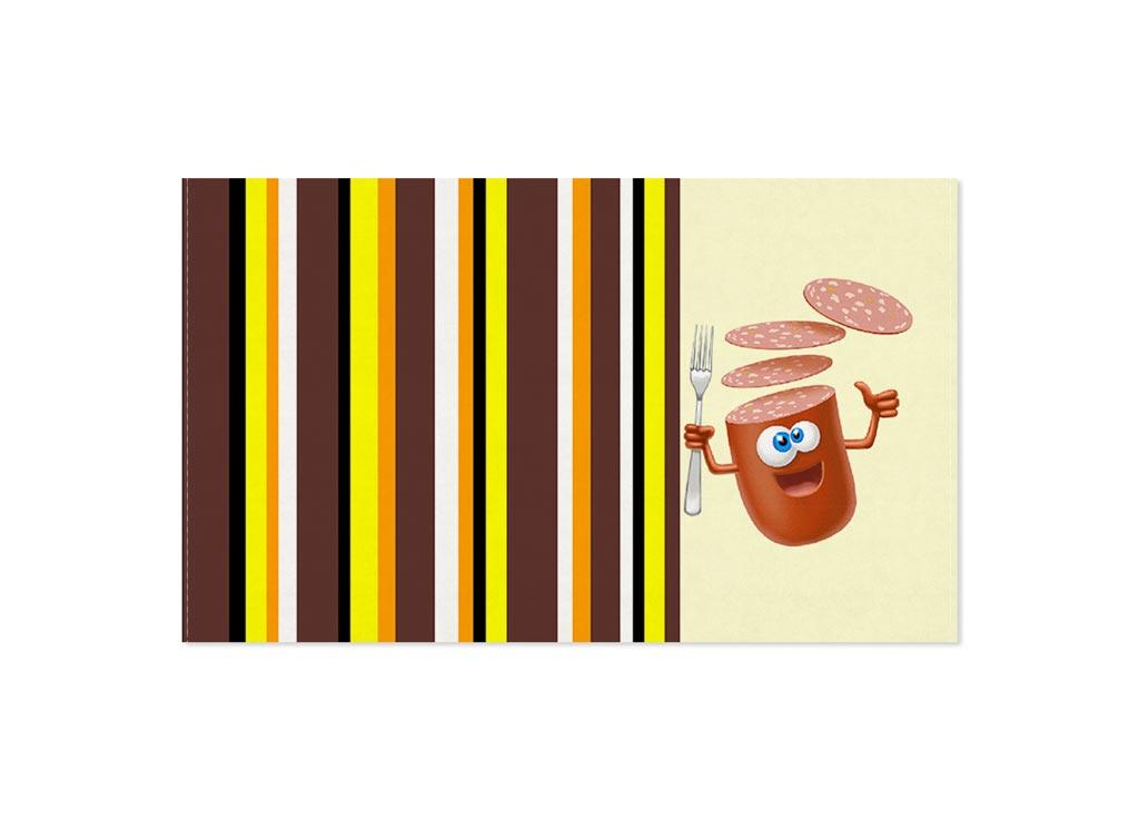 Полотенце кухонное Soavita Колбаса, 30 х 50 смCLP446Кухонное полотенце Soavita Колбаса, выполненное из 100% хлопка, оформлено оригинальным рисунком. Изделие предназначено для использования на кухне и в столовой.Такое полотенце станет отличным вариантом для практичной и современной хозяйки.Рекомендуется стирка при температуре 40°C.
