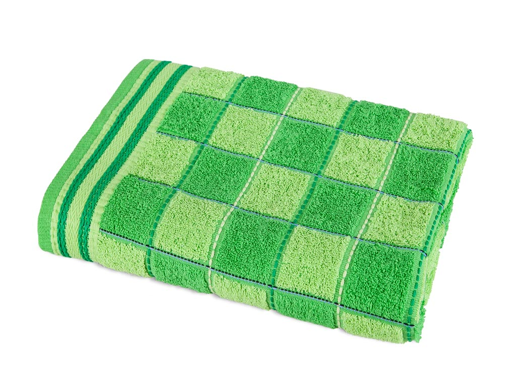 Полотенце Soavita Premium. Шахматы, цвет: зеленый, 68 х 135 смS03301004Банное полотенце Soavita Premium. Шахматы выполнено из 100% хлопка с мягким ворсом и оформлено принтом в виде шахматной доски. Изделие отлично впитывает влагу, быстро сохнет, сохраняет яркость цвета и не теряет форму даже после многократных стирок. Полотенце очень практично и неприхотливо в уходе. Оно создаст прекрасное настроение и украсит интерьер в ванной комнате.