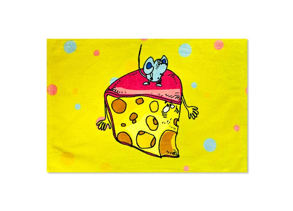 Полотенце кухонное Soavita Сыр, 40 х 60 см51798Кухонное полотенце Soavita Сыр, выполненное из 100% хлопка, оформлено ярким рисунком. Изделие предназначено для использования на кухне и в столовой.Такое полотенце станет отличным вариантом для практичной и современной хозяйки.Рекомендуется стирка при температуре 40°C.