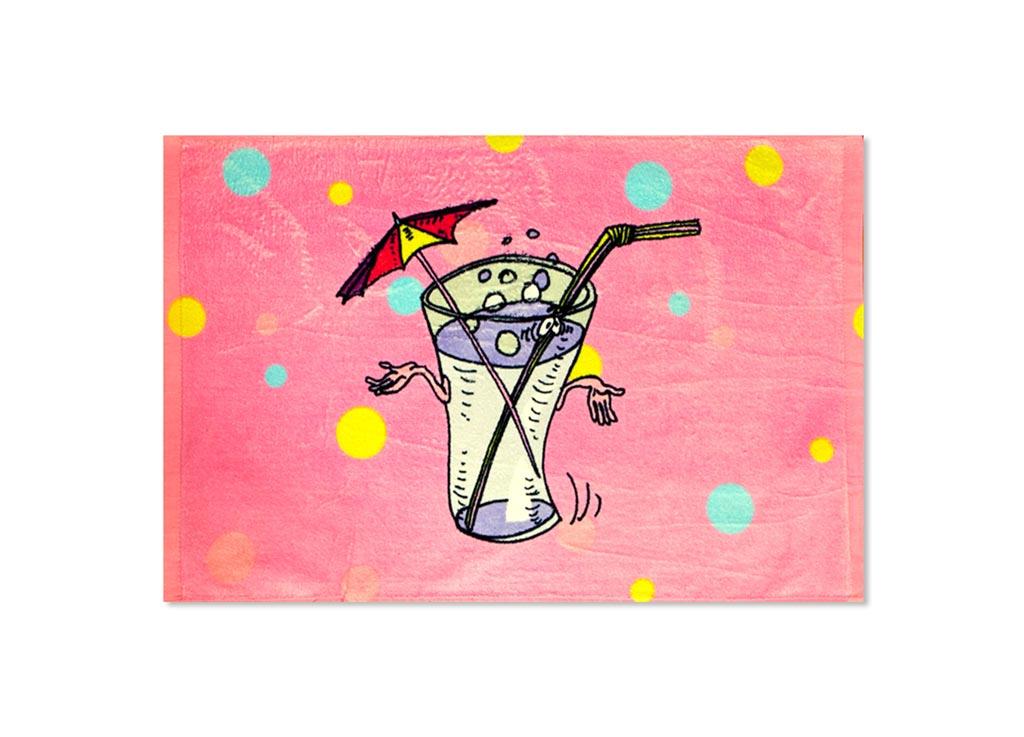 Полотенце кухонное Soavita Лимонад, 40 х 60 смVT-1520(SR)Кухонное полотенце Soavita Лимонад, выполненное из 100% хлопка, оформлено оригинальным рисунком. Изделие предназначено для использования на кухне и в столовой.Такое полотенце станет отличным вариантом для практичной и современной хозяйки.Рекомендуется стирка при температуре 40°C.