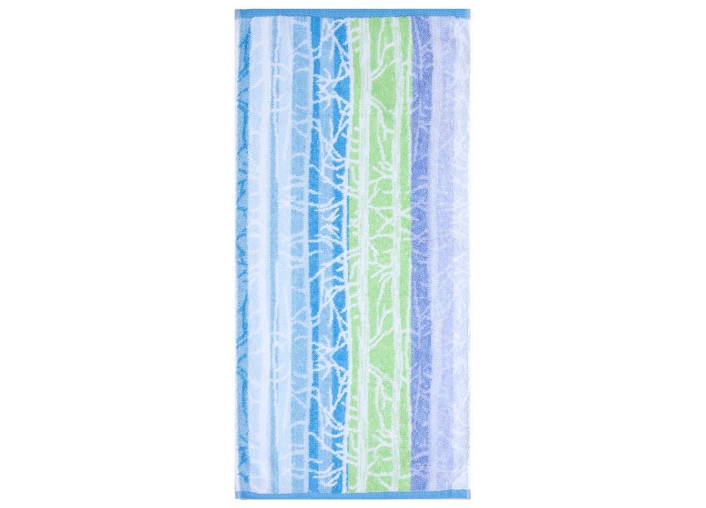 Полотенце Soavita Интер, цвет: голубой, зеленый, 45 х 90 смES-412Полотенце Soavita Интер выполнено из 100% натурального, экологически чистого хлопка. Изделие прекрасно подходит для вытирания лица, рук или ног. Полотенце очень практично и неприхотливо в уходе. Оно отлично впитывает влагу, быстро сохнет, сохраняет яркость цвета и не теряет форму после многократных стирок. Такое полотенце идеально дополнит интерьер вашей ванной комнаты или кухни и создаст атмосферу уюта и комфорта.