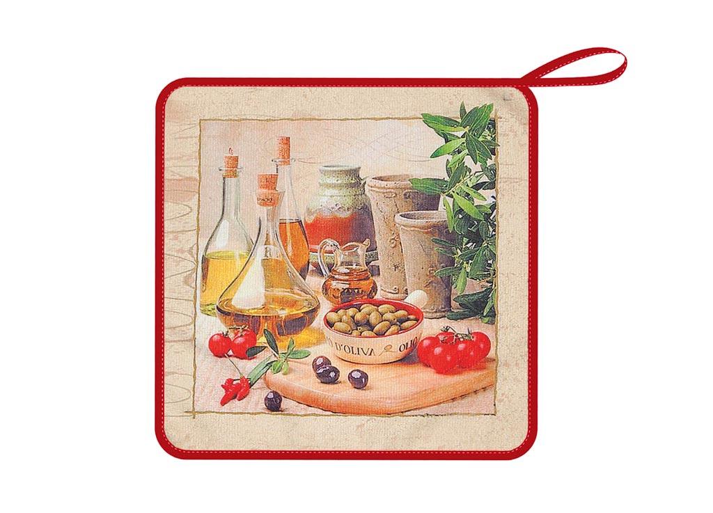 Салфетка кухонная Soavita Оливки, из микрофибры, цвет: коричневый, 30 х 30 смVT-1520(SR)Кухонная салфетка Soavita Оливки выполнена из микрофибры и оформлена ярким рисунком. Салфетка идеально подходит для сухой и влажной чистки. Полностью удаляет воду, не оставляя следа. В сухом виде подходит для деликатных поверхностей: стекол, зеркал, оптики, мониторов, мебели, бытовой техники и многого другого. Во влажном виде незаменима на кухне, в ванной, в уходе за автомобилем. Изделие дополнено окантовкой и оснащено петелькой для подвешивания на крючок. Перед использованием постирать при температуре не выше +40°С.