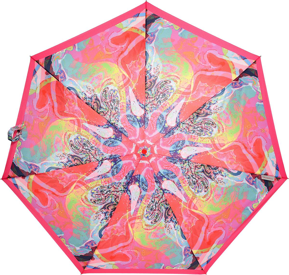 Bisetti 35153-1 Зонт полный автом. 3 сл. жен.REM12-CAM-REDBLACKЗонт испанского производителя Clima. В производстве зонтов используются современные материалы, что делает зонты легкими, но в то же время крепкими. Полный автомат, 3 сложения, 8 спиц по 54 см, полиэстер.