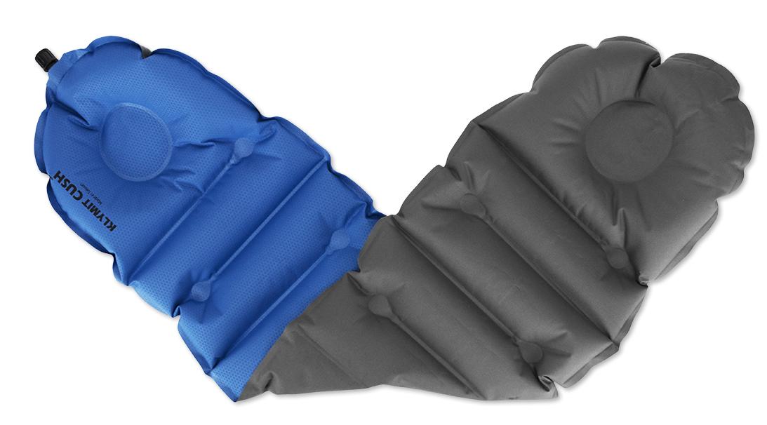 Надувная подушка/сиденье Klymit  Cush seat/pillow Blue , цвет: синий - Подушки, пледы, коврики