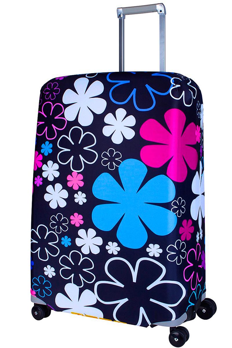 Чехол для чемодана Coverway Floxy, размер L/XL (75-85 см)FF718LiCDЧехол для чемодана Coverway Floxy предназначен для больших чемоданов, высотой от 75 до 85 см (29-33 inch) (мерить от пола). Плотность ткани - 240 г/кв.м, упрочненные швы, 2 потайные молнии для боковых ручек с двух сторон. Внизу чехла расположена молния-трактор, имеется дополнительная резинка с фастексом для лучшей усадки. Стойкая сублимационная печать.