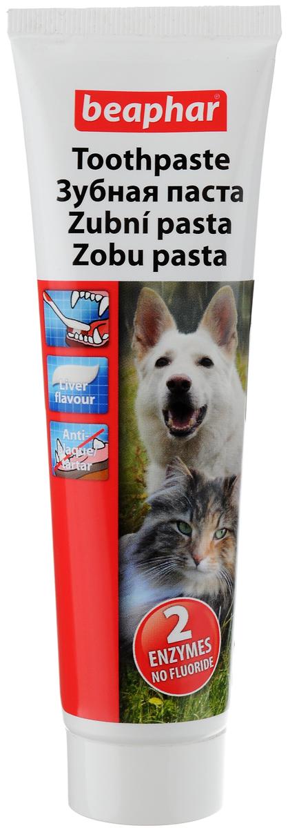 Паста зубная Beaphar для собак и кошек, со вкусом печени, 100 г13100Паста зубная Beaphar для собак и кошек содержит ингредиенты, удаляющие отложения ферментов и является полноценным средством ухода за полостью пасти животного. Забота о зубах домашних животных сегодня так же важна, как и забота о зубах человека. Зубная паста не дает пены и не требует последующего полоскания пасти. Чистит зубы и устраняет дурной запах из пасти. Фармакологические свойства: - Ферменты в зубной пасте действуют против образования бляшек и уничтожают бактерии, ответственные за развитие бляшек.- Уменьшает образование зубного камня из бляшек.- Ингредиент флюорид обеспечивает укрепление эмали зубов. Это вещество уменьшает растворение эмали во время кислотной атаки, вызванной бляшками. Более того, флюорид стимулирует растворение осадка во время действия кислоты.- Выполняет классическую функцию зубной пасты.- Полирование удаляет бляшки механически.Товар сертифицирован.
