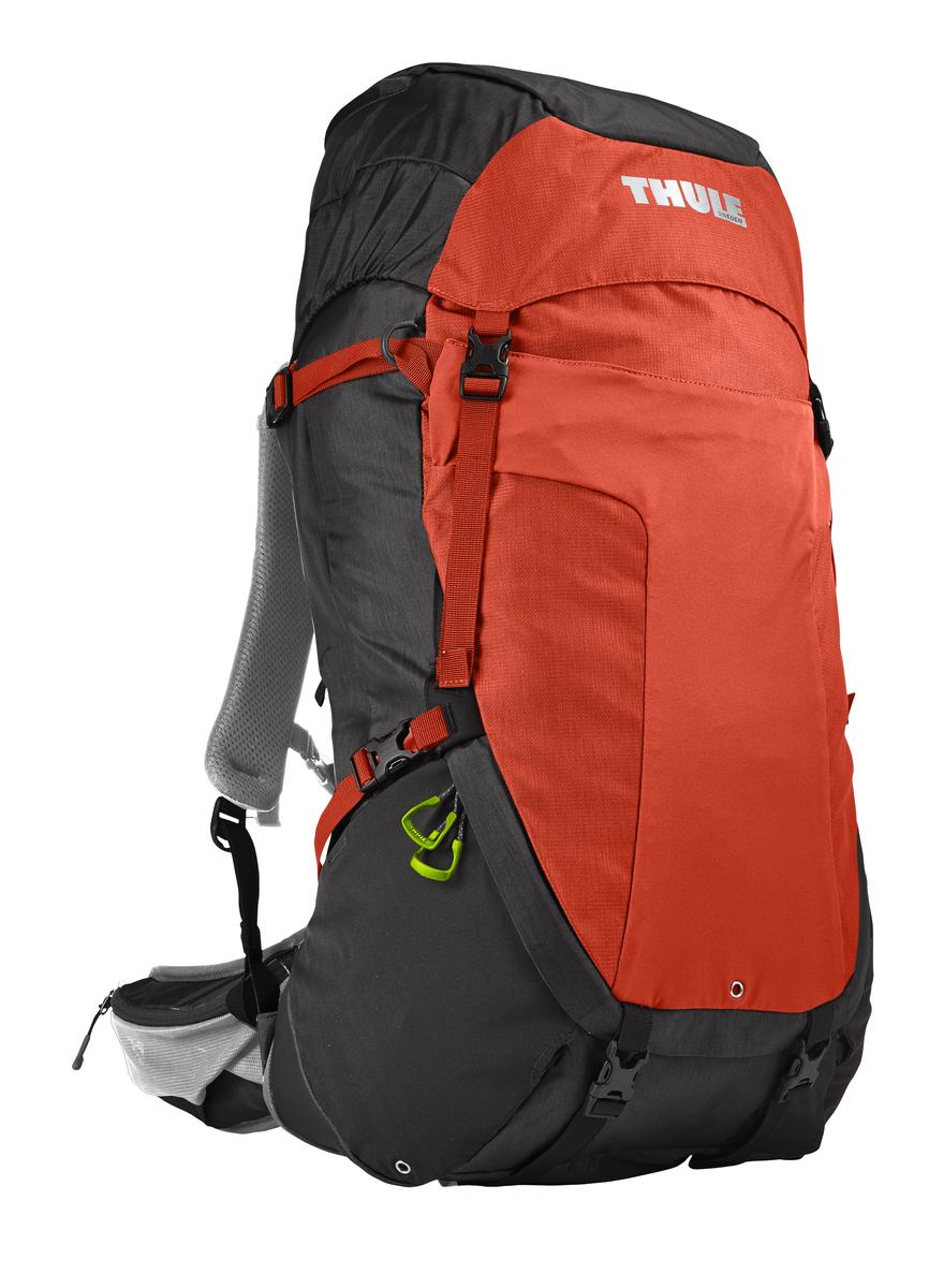 Рюкзак туристический мужской Thule Capstone, цвет: оранжевый, черный, 50 л рюкзак мужской thule capstone цвет оранжевый 32л